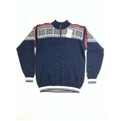 Norsk Pullover - Blå