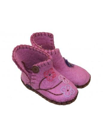 Clemente børnefutter Pink